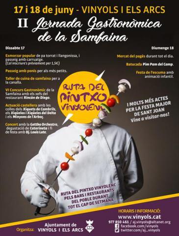 II Jornada Gastronòmica de la Samfaina