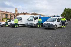 Tots els vehicles de què disposen actualment els serveis municipals